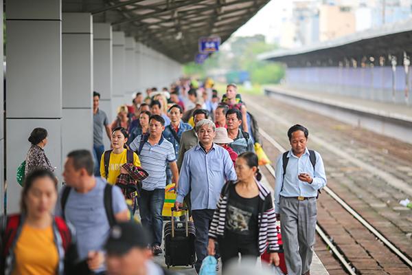 Giá vé tàu tết Sài Gòn Hà Nội