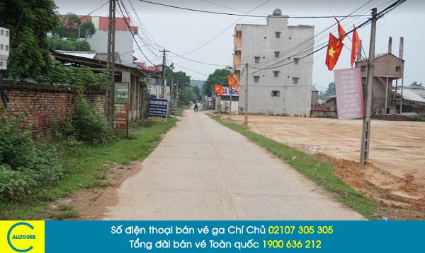 Vé tàu Chí Chủ Hà Nội